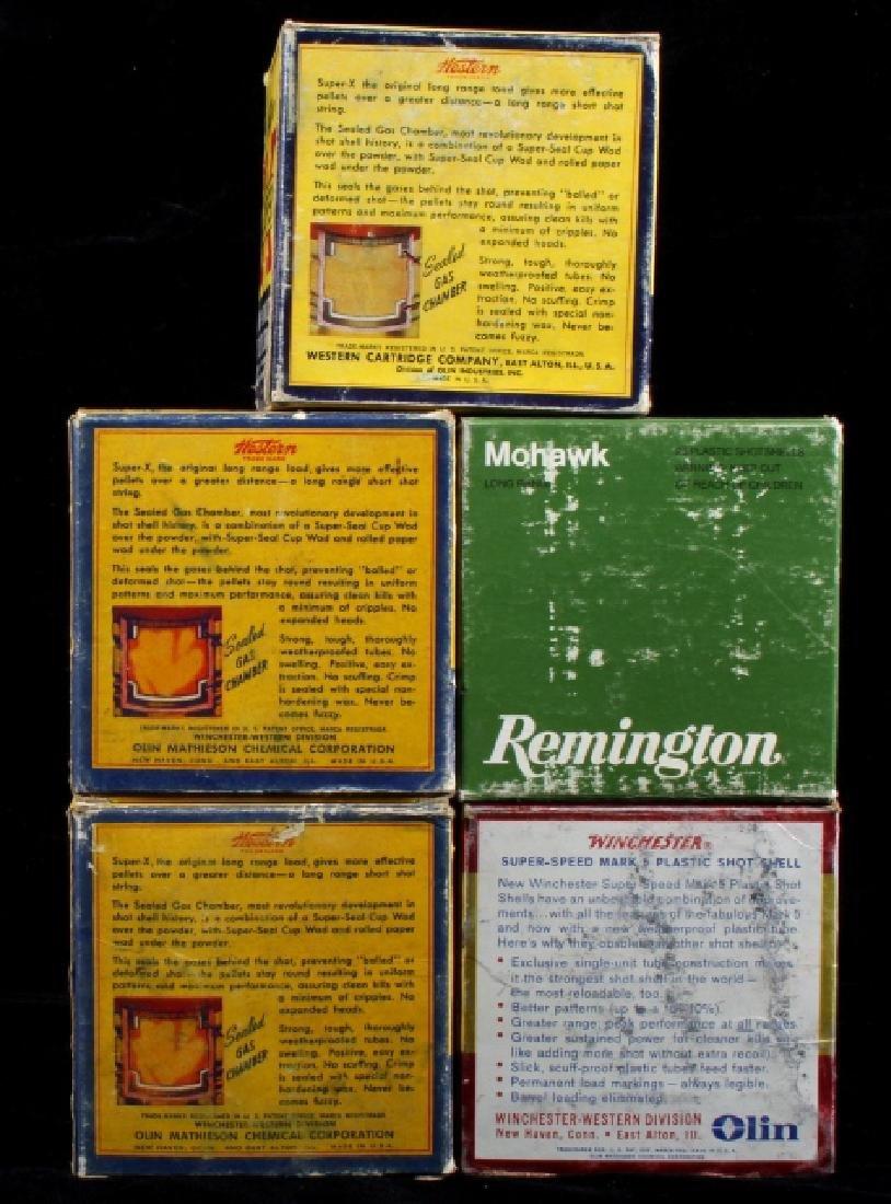 Antique 12ga Shotgun Shell Box Collection (5) - 2
