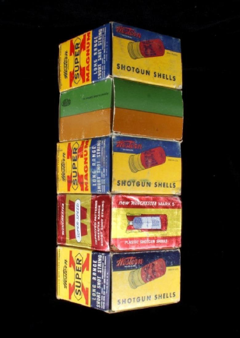 Antique 12ga Shotgun Shell Box Collection (5) - 4