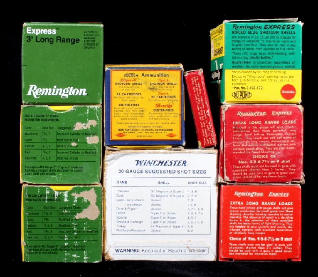 Antique .410 & 20ga Shotgun Shell Boxes (9) - 2