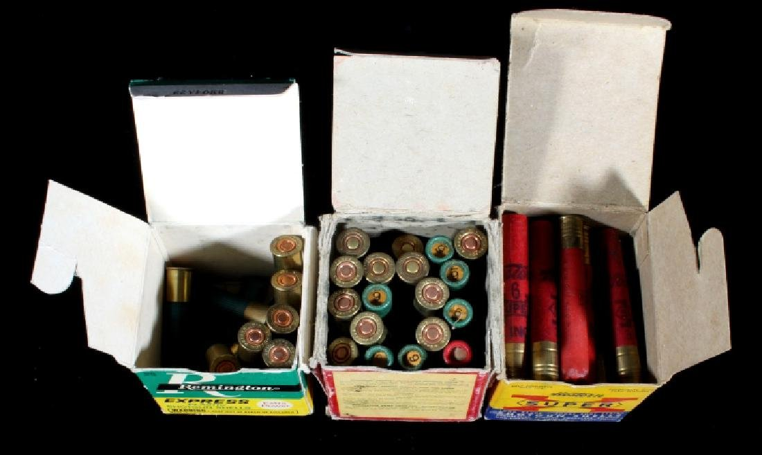 Antique .410 & 20ga Shotgun Shell Boxes (9) - 8