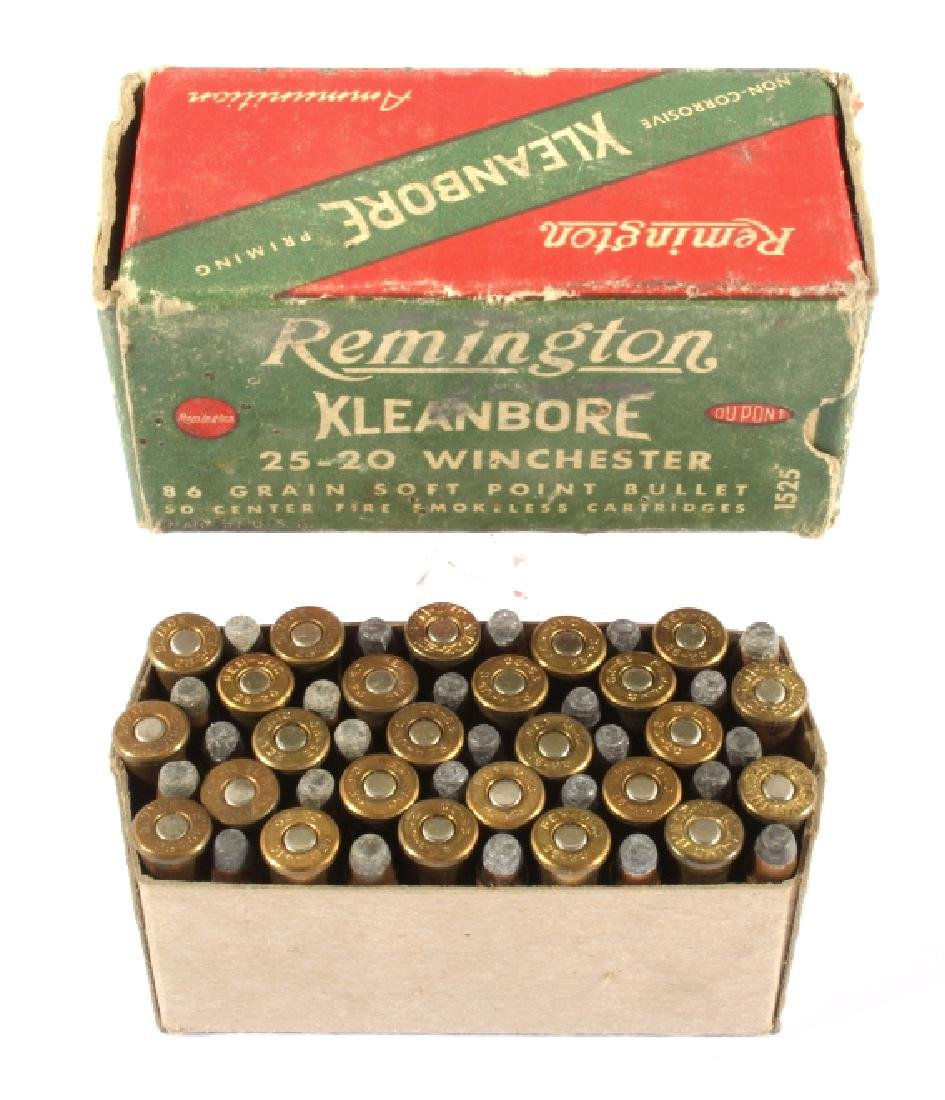 Antique .22 & .25-20 Ammunition & Boxes (13) - 2