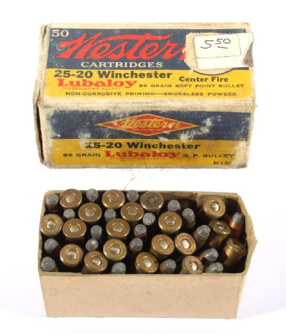 Antique .22 & .25-20 Ammunition & Boxes (13) - 5