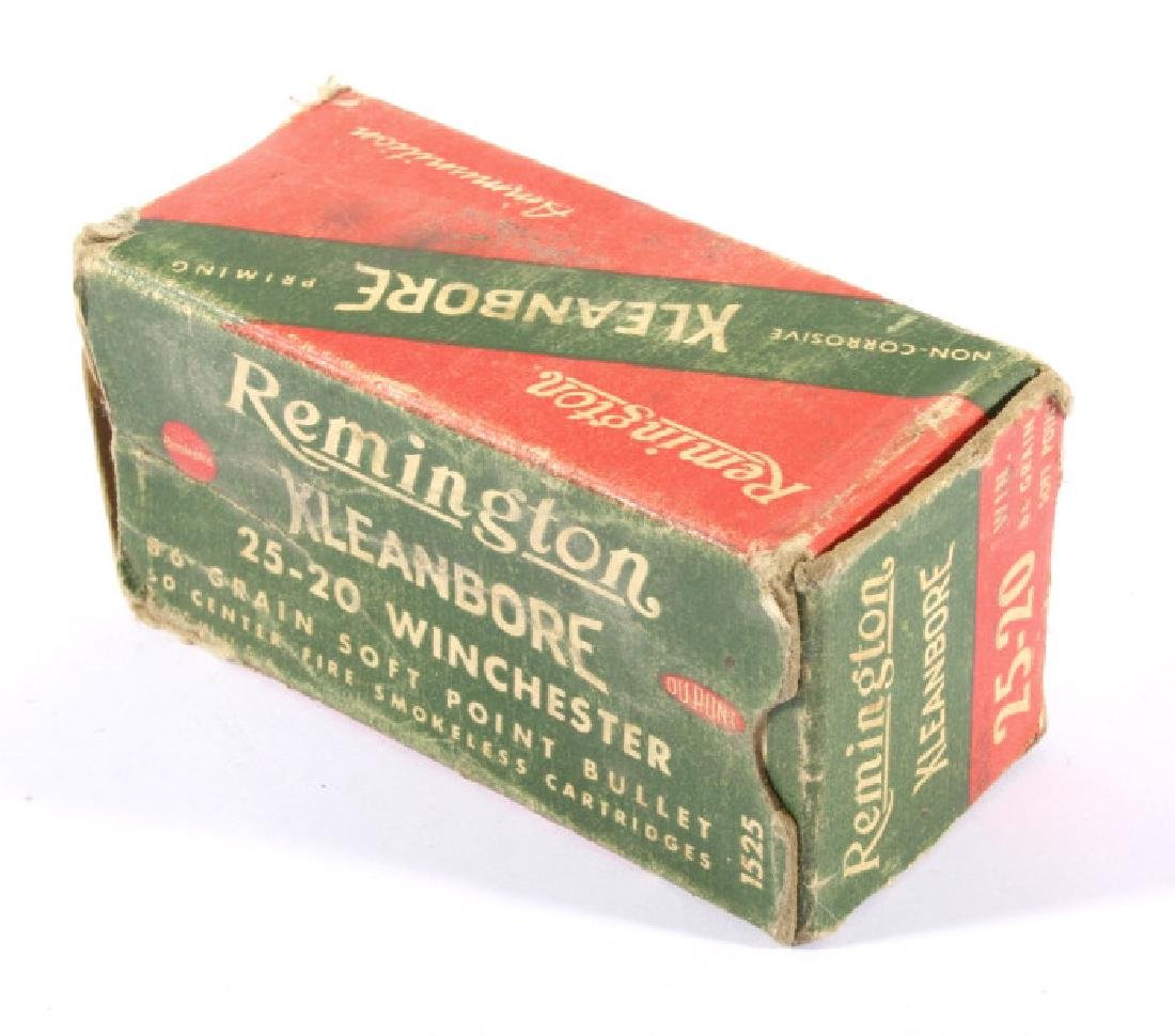 Antique .22 & .25-20 Ammunition & Boxes (13) - 7