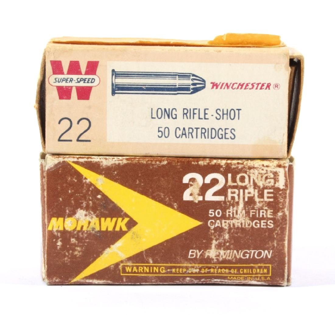Antique .22 & .25-20 Ammunition & Boxes (13) - 8