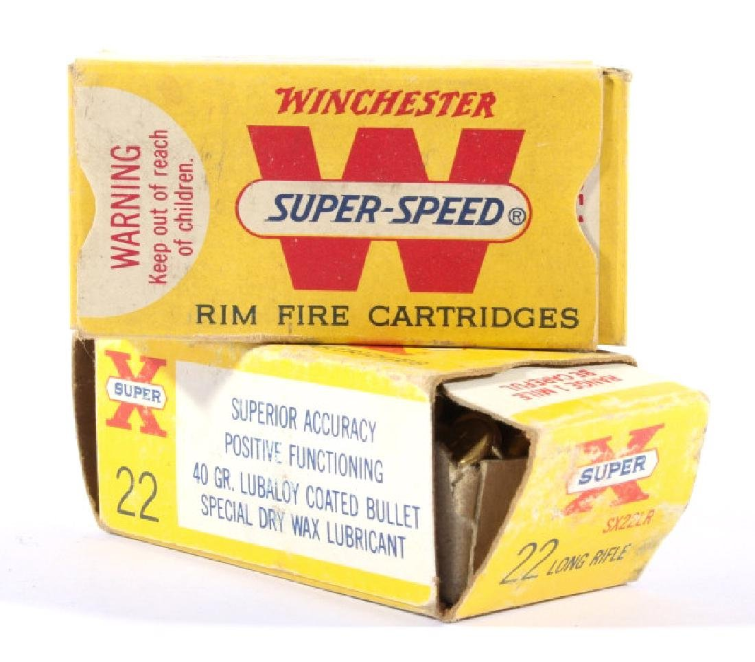 Antique .22 & .25-20 Ammunition & Boxes (13) - 9