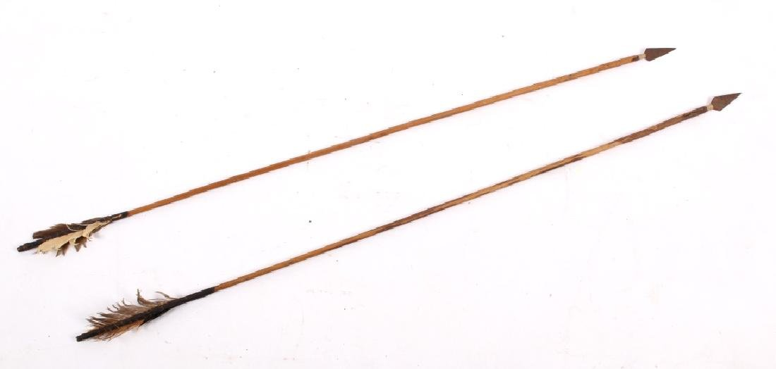 Native American Long Bow & Arrows - 2