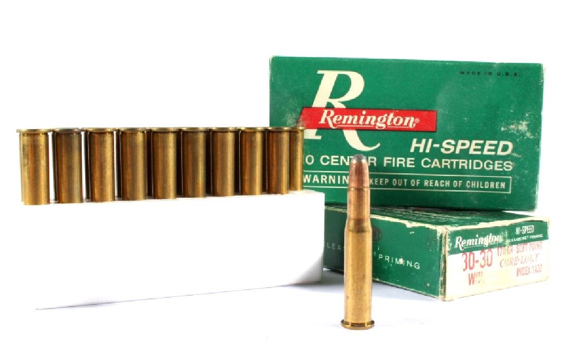 Collection of Antique Repeating Rifle Ammunition - 4