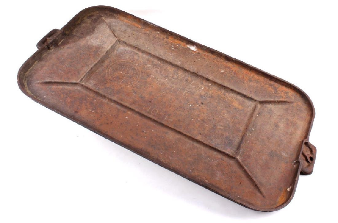 Griswold Number 11 Long Griddle Circa 1910-20 - 2