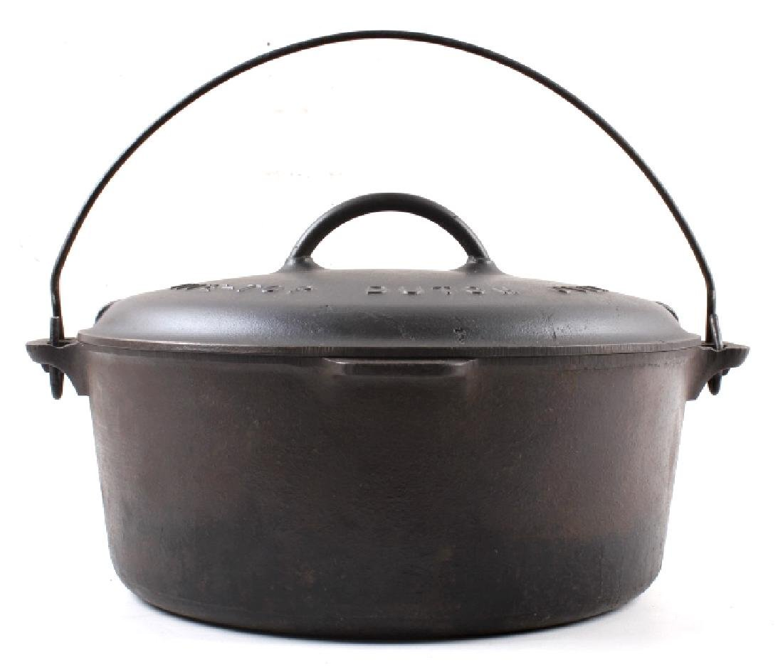 Griswold Number 10 Tite-Top Dutch Oven - 3