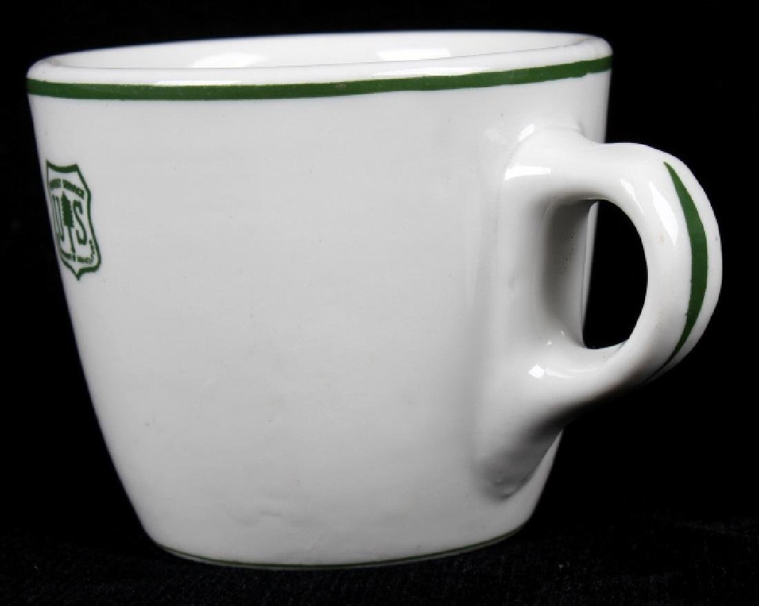 Vintage US Forest Service Coffee Cup and Saucer - 7