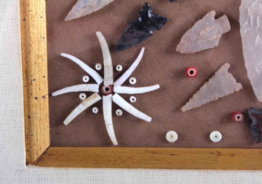 Native American Arrowhead Artifact Collection - 10