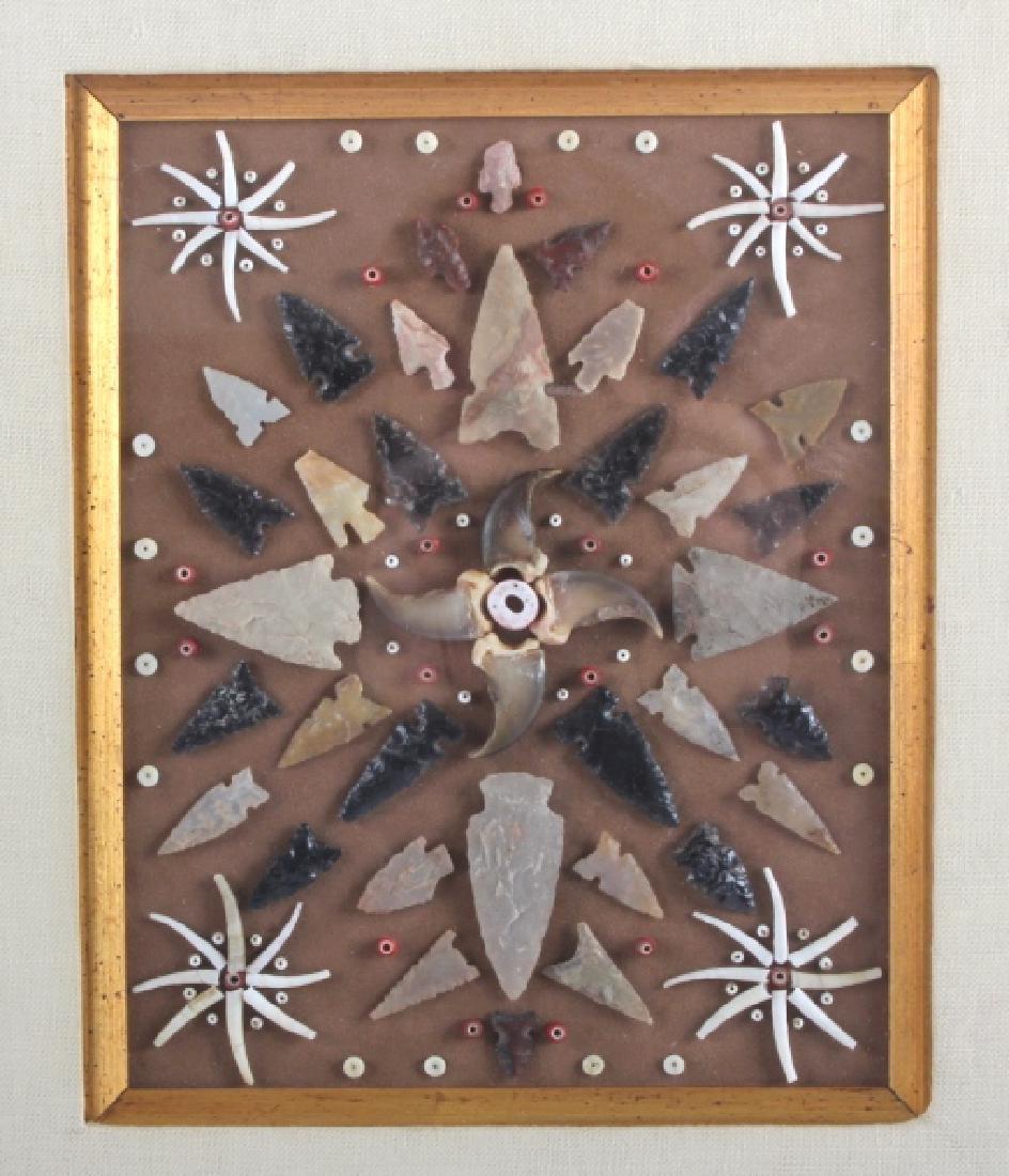 Native American Arrowhead Artifact Collection - 2