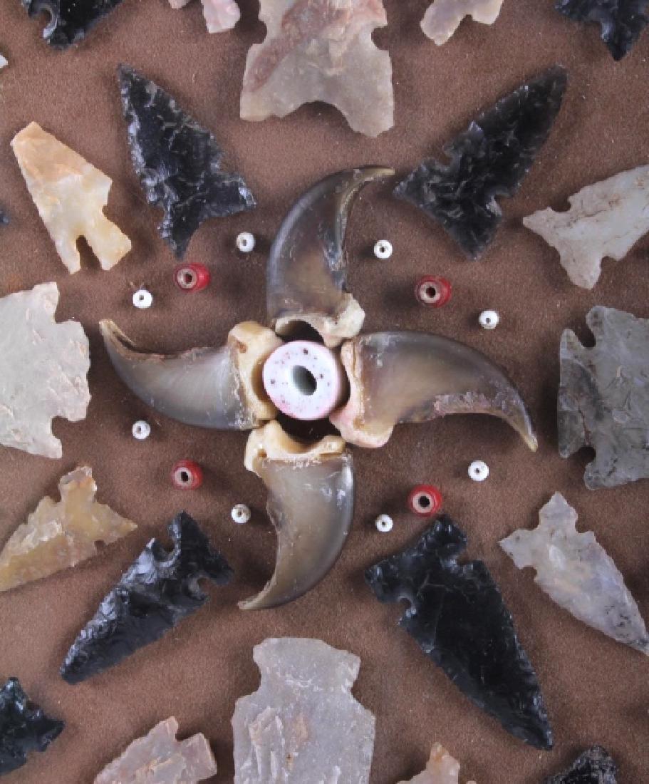 Native American Arrowhead Artifact Collection - 3