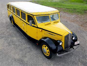 1936 White Motor Co Model 706 Yellowstone Park Bus