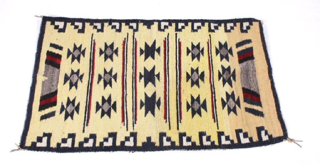 Navajo Ganado Wool Rug - 3