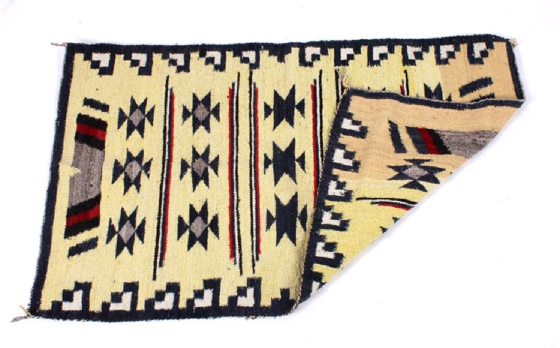 Navajo Ganado Wool Rug - 4