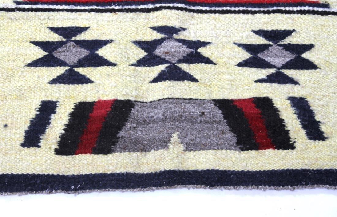 Navajo Ganado Wool Rug - 6