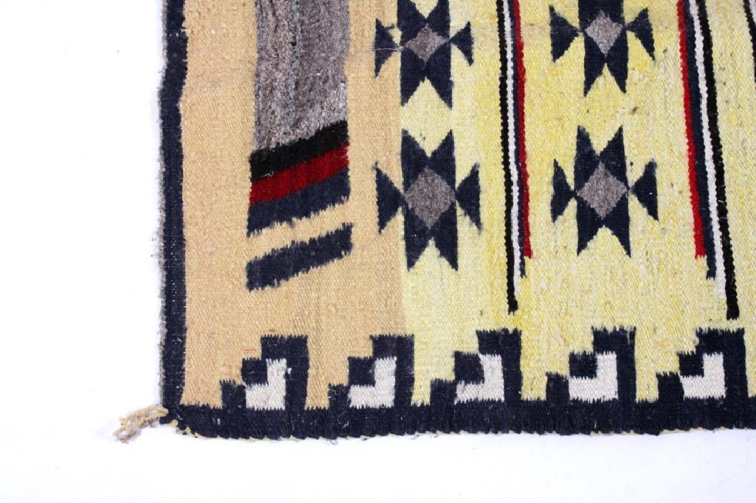 Navajo Ganado Wool Rug - 8