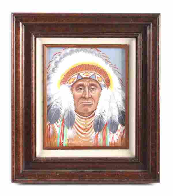 Original Carol Martin Oil on Board Painting