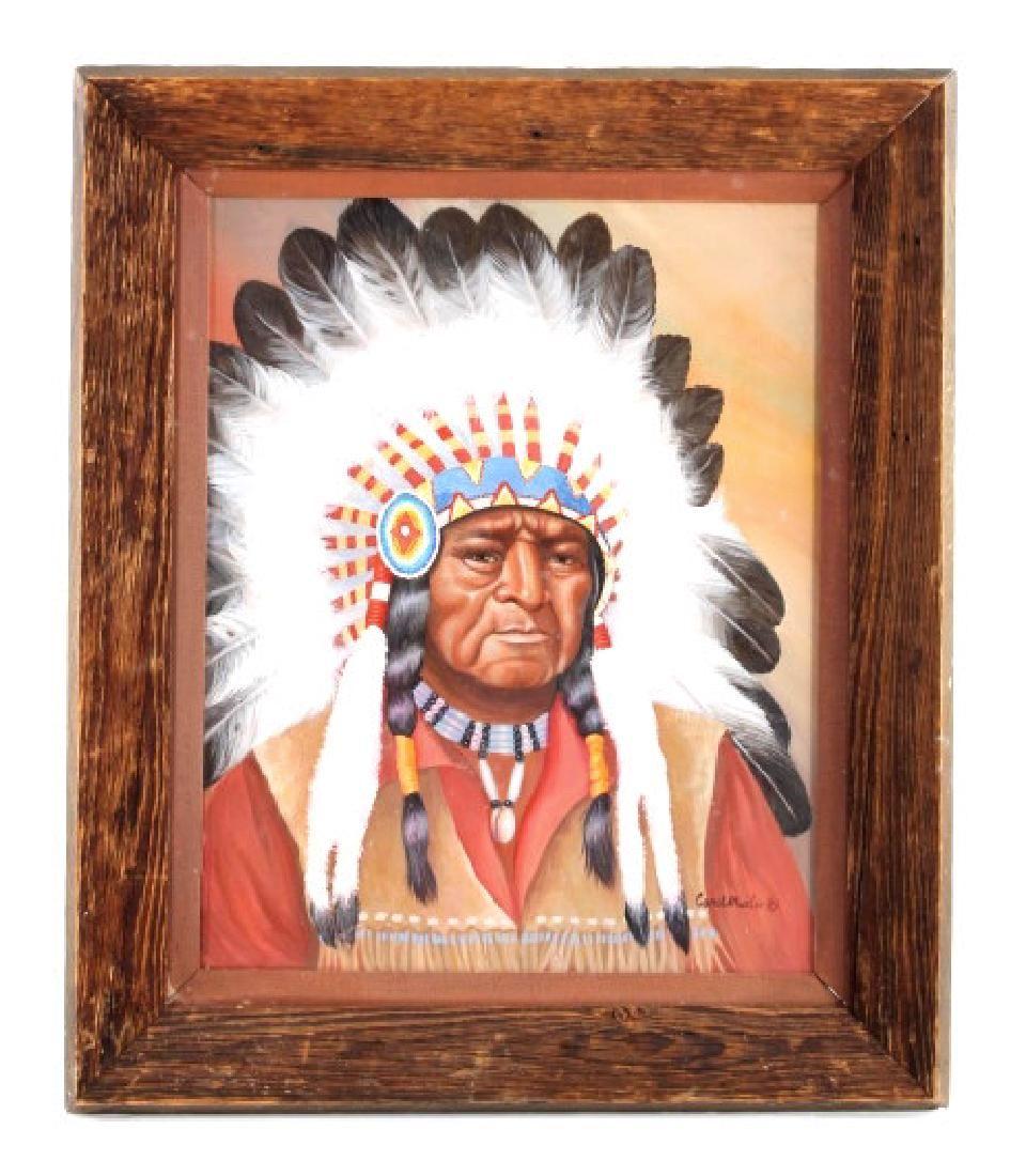 Original Carol Martin Framed Oil Painting