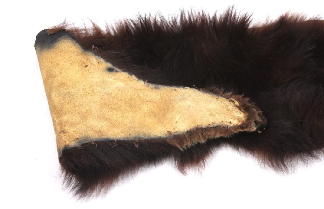 Bear Skin Shawl - 5