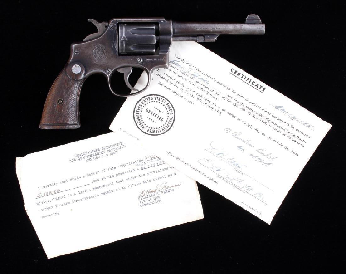 S&W British Proof M&P Capture .38 Revolver w/ CERT
