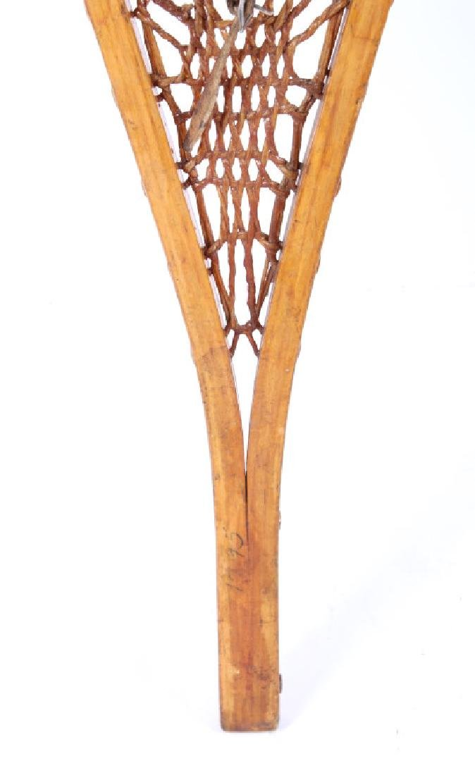 Tubbs Wallingford Vermont Wood & Rawhide Snowshoes - 4