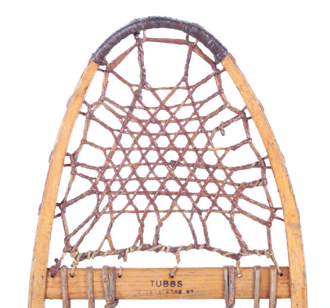 Tubbs Wallingford Vermont Wood & Rawhide Snowshoes - 6
