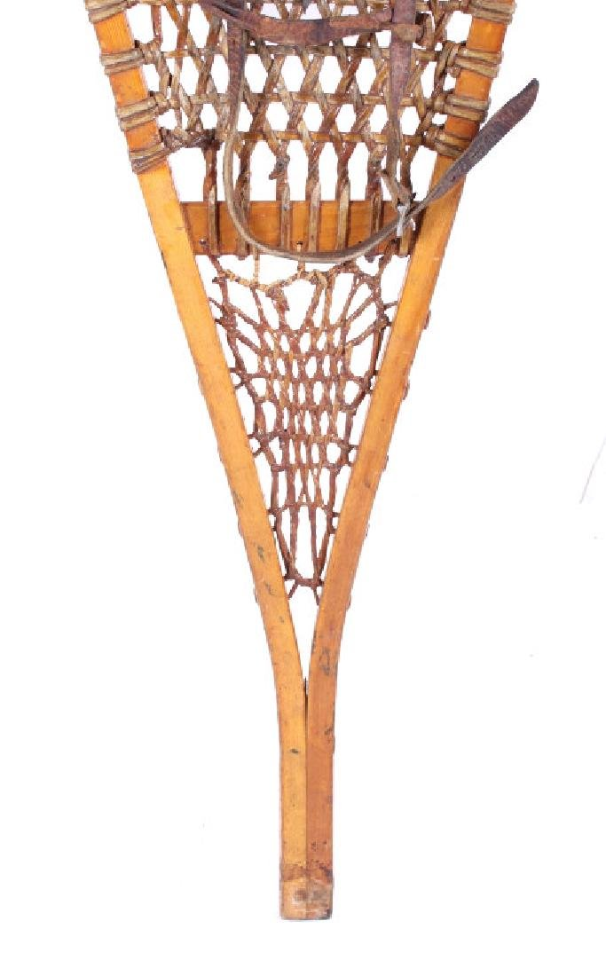 Tubbs Wallingford Vermont Wood & Rawhide Snowshoes - 8