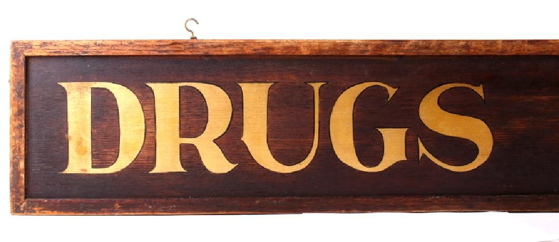 Early 19th Century Drug Trade Sign - 2