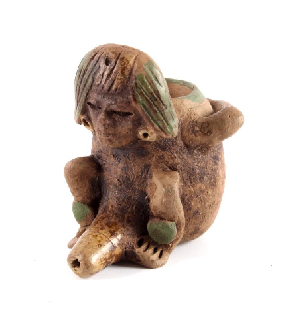 Mayan Fertility Phallic Pipe circa 500 A.D.