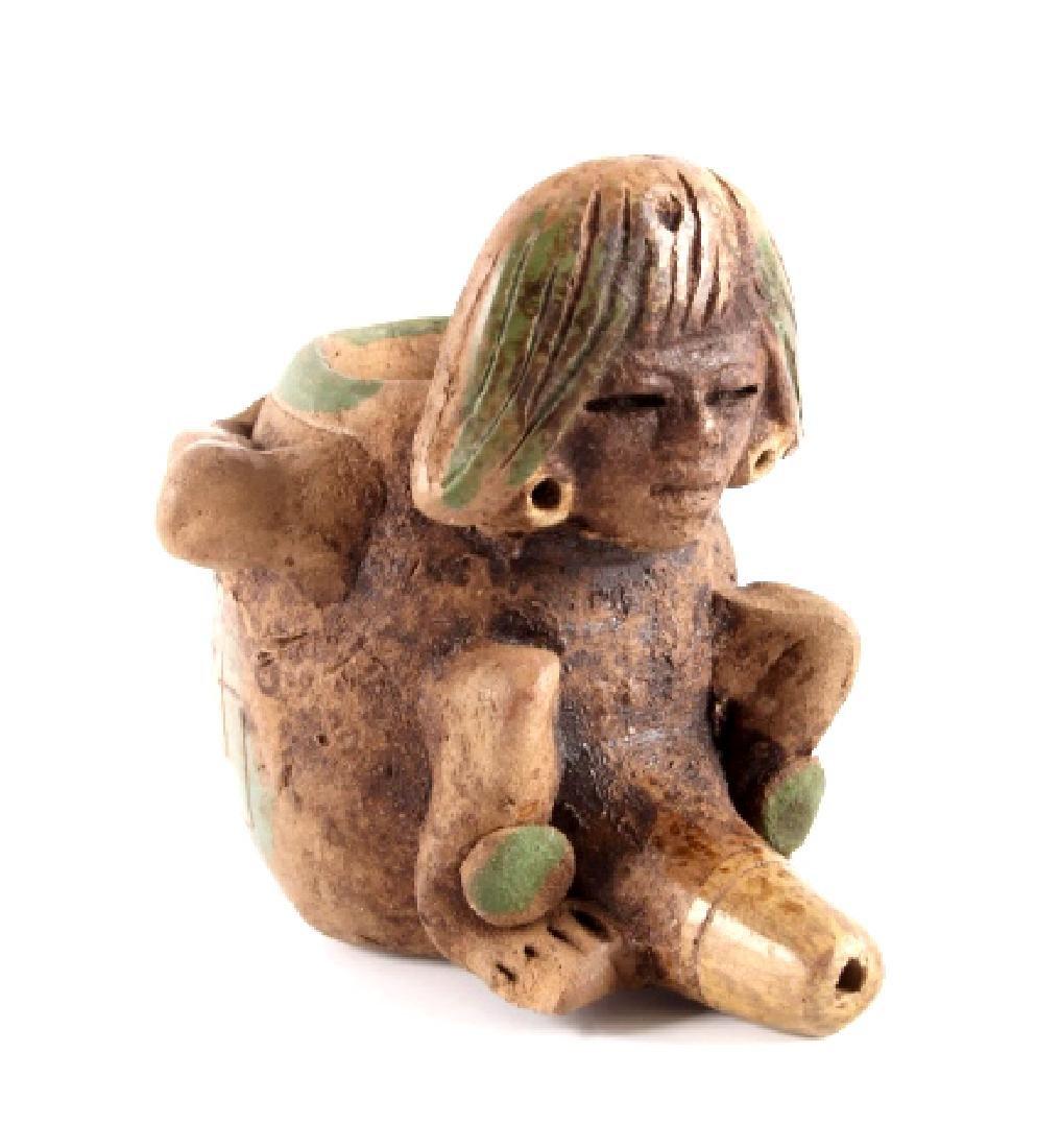 Mayan Fertility Phallic Pipe circa 500 A.D. - 2