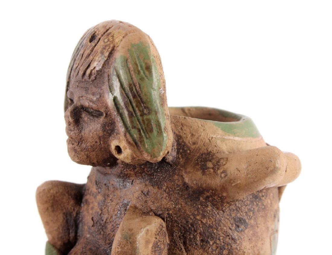 Mayan Fertility Phallic Pipe circa 500 A.D. - 4