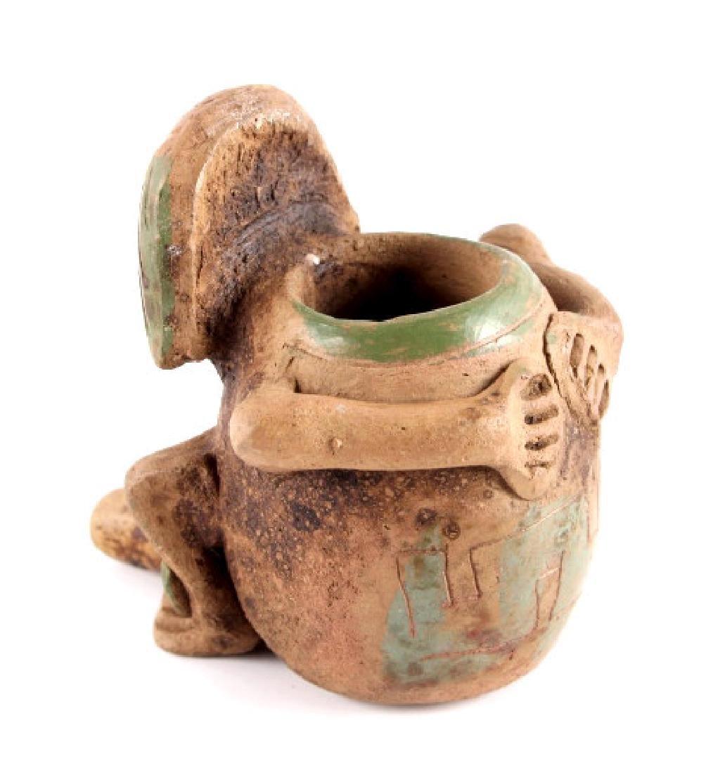 Mayan Fertility Phallic Pipe circa 500 A.D. - 7