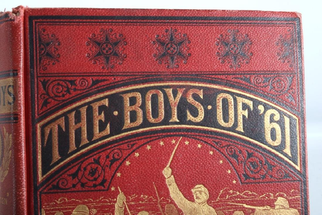 The Boys of '61 by Charles Coffin 1881 - 2