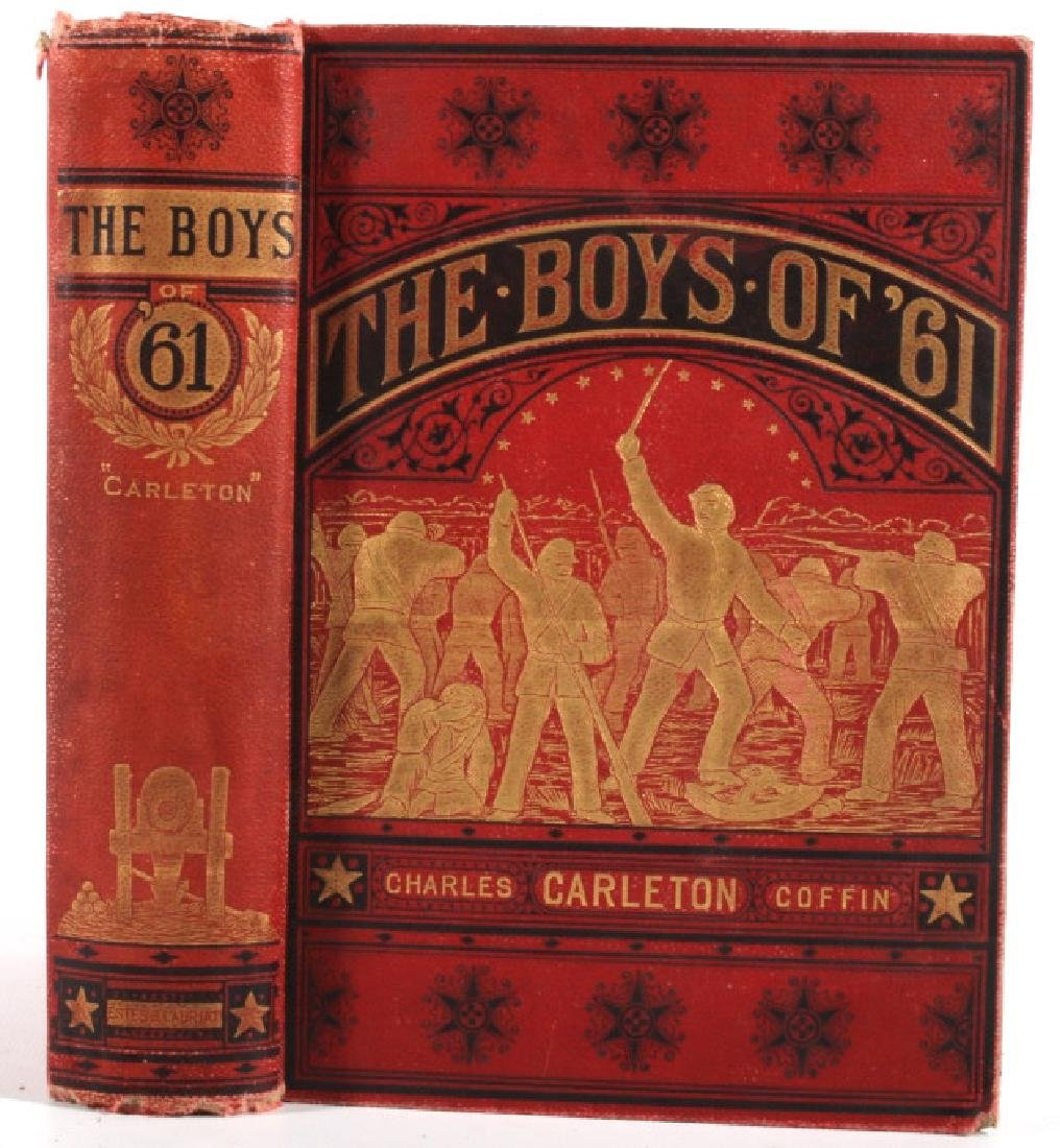 The Boys of '61 by Charles Coffin 1881 - 7
