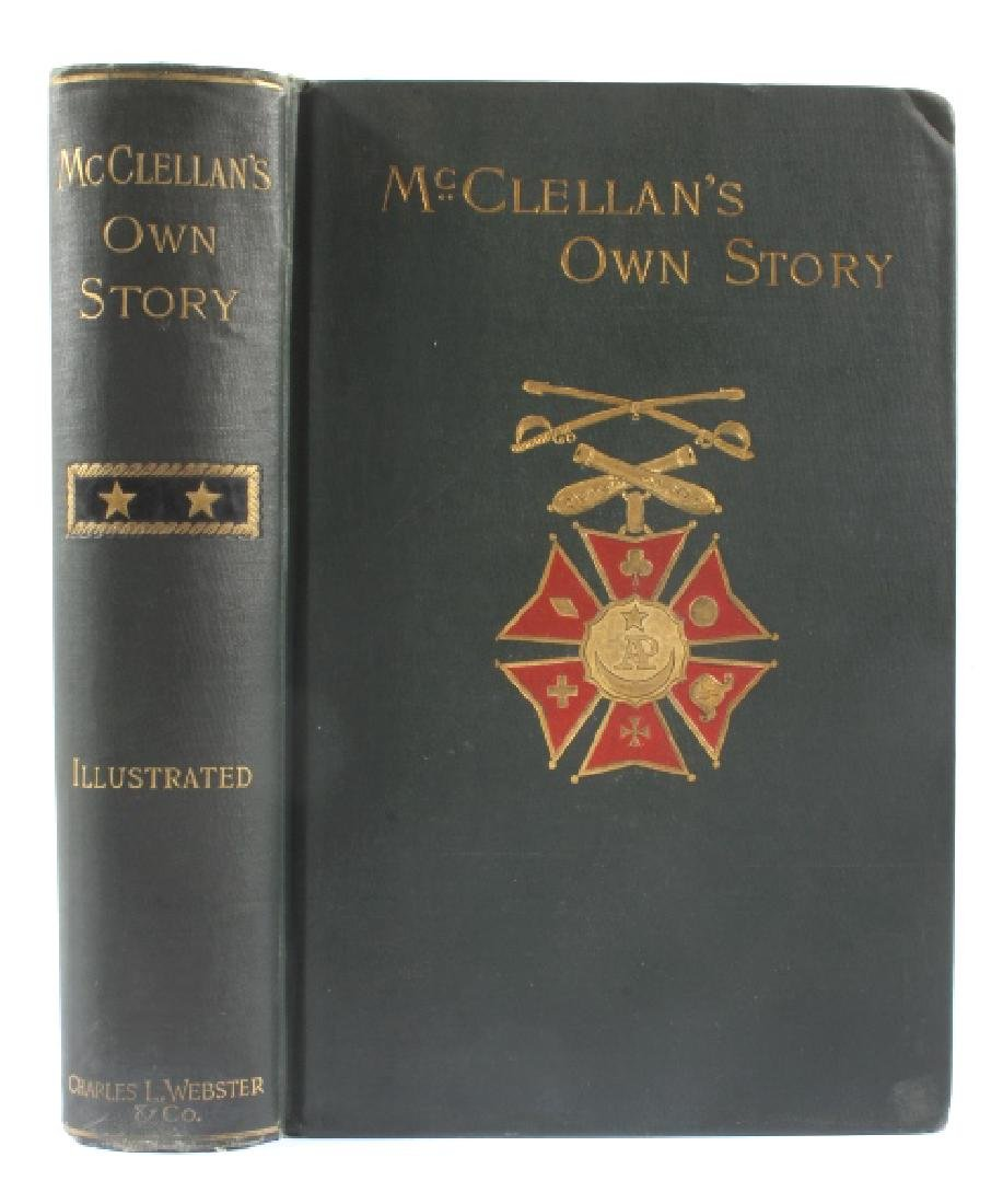McClellan's Own Story First Edition 1887 - 3