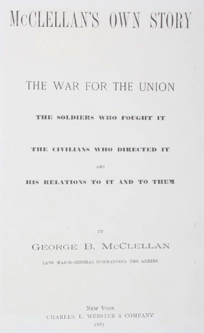 McClellan's Own Story First Edition 1887 - 5