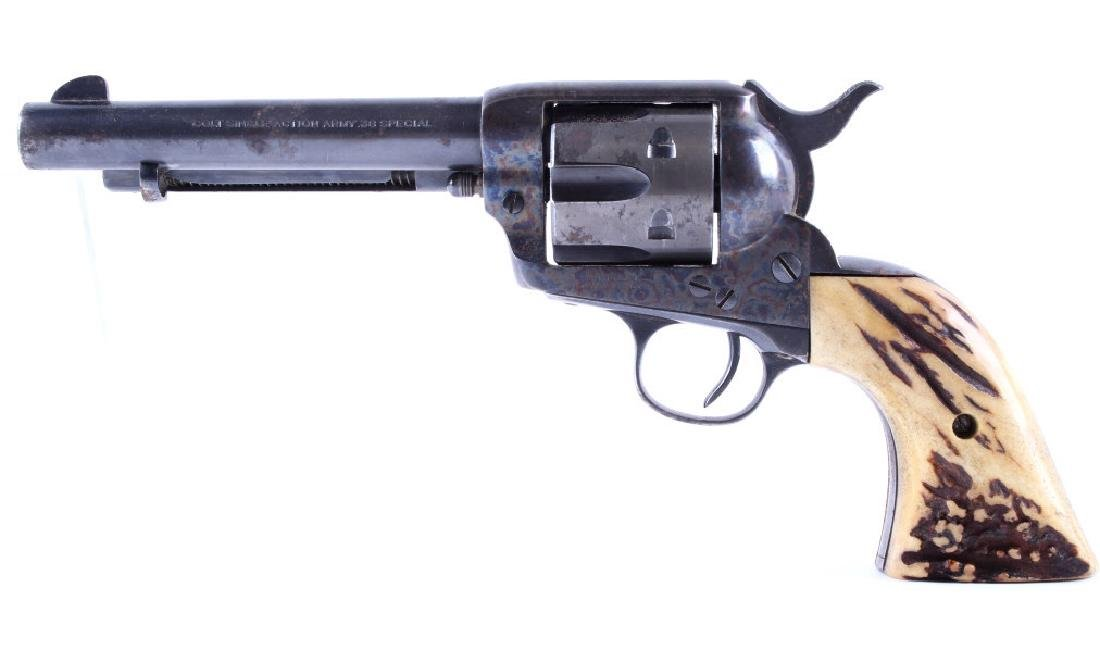 Colt Single Action Army 1973 .38 Spl Revolver 1905