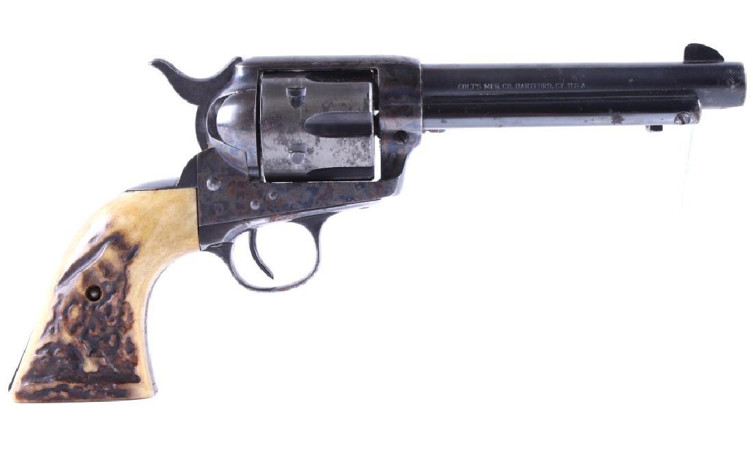 Colt Single Action Army 1973 .38 Spl Revolver 1905 - 2