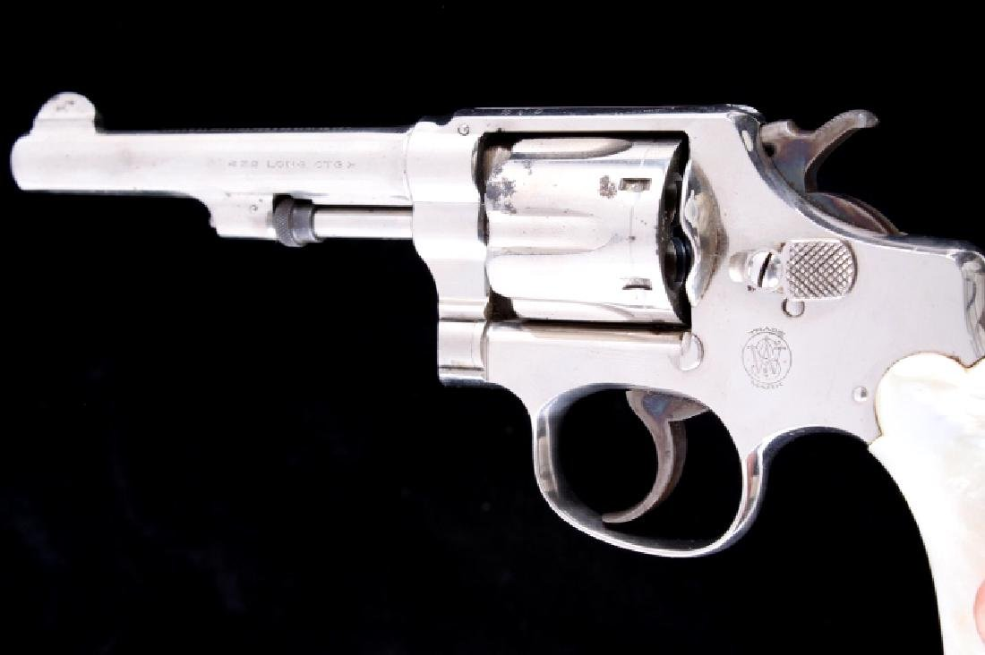 Smith & Wesson 1903 32 Hand Ejector Revolver 90% - 4