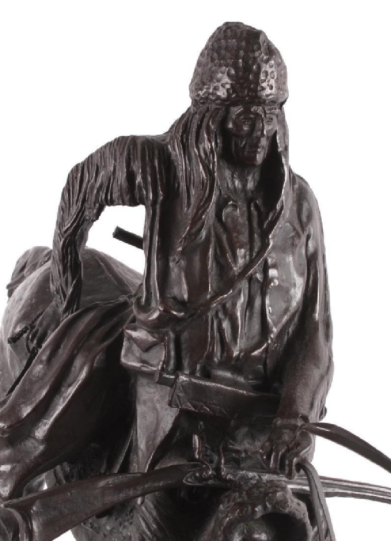 """Frederic Remington Bronze """"Mountain Man"""" - 2"""