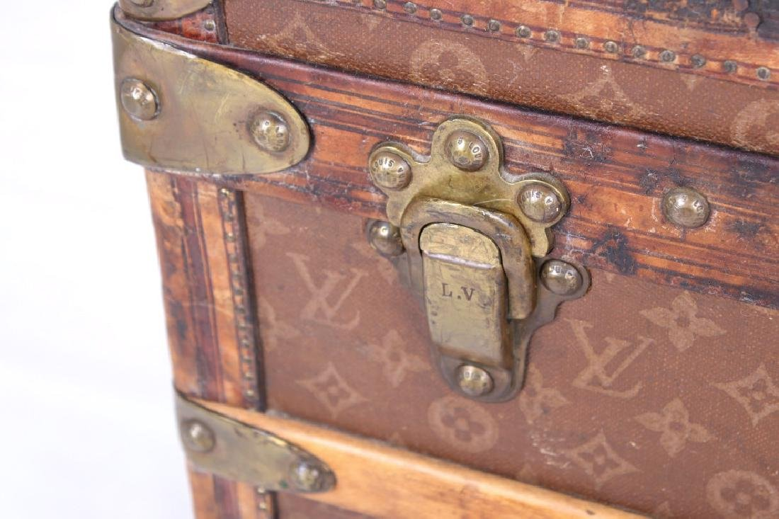 Louis Vuitton Monogram Steamer Trunk c.19th-20thC - 10
