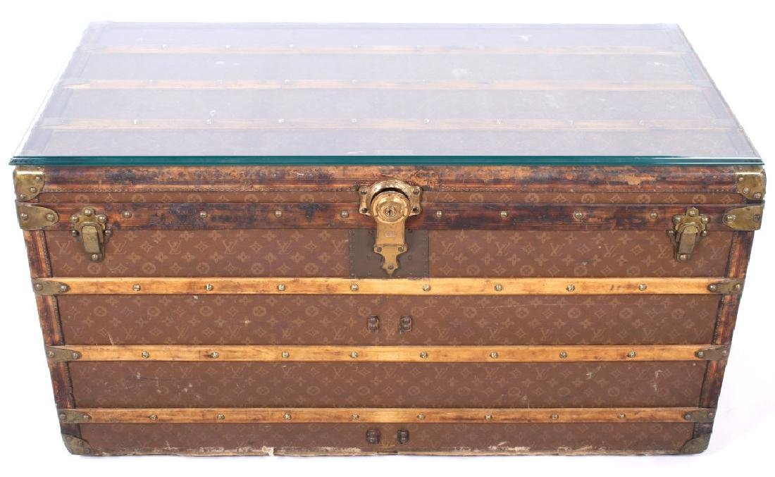 Louis Vuitton Monogram Steamer Trunk c.19th-20thC - 2