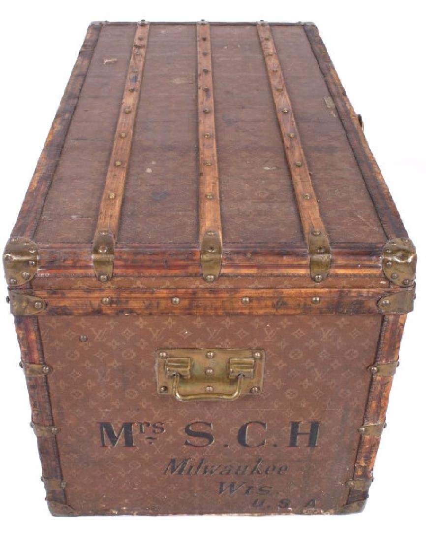 Louis Vuitton Monogram Steamer Trunk c.19th-20thC - 3