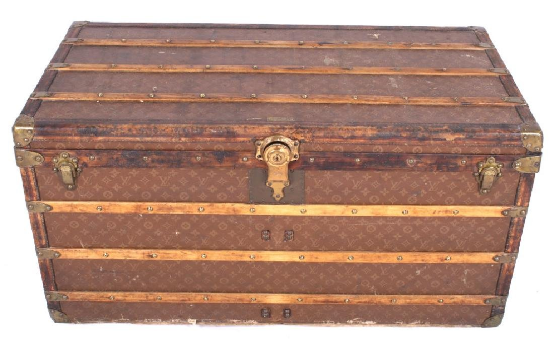Louis Vuitton Monogram Steamer Trunk c.19th-20thC - 5