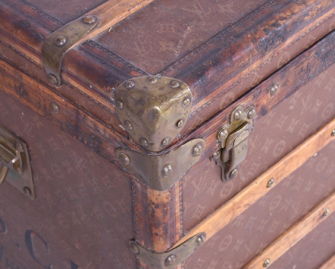 Louis Vuitton Monogram Steamer Trunk c.19th-20thC - 6