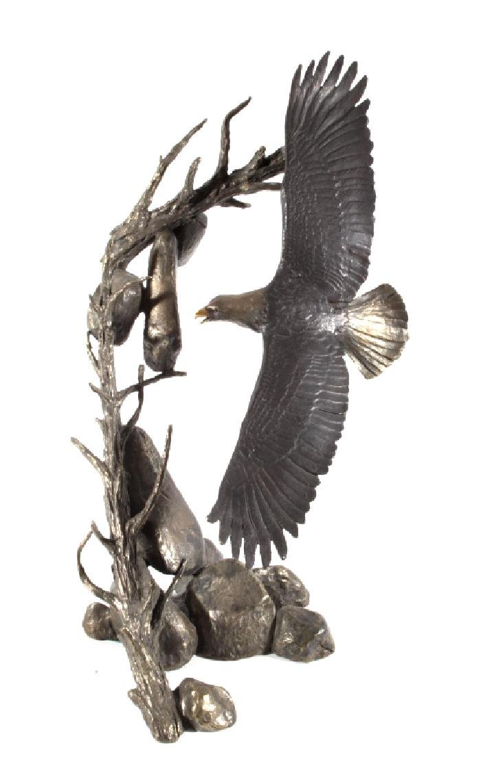 American Bald Eagle Bronze by Mark Hopkins LARGE