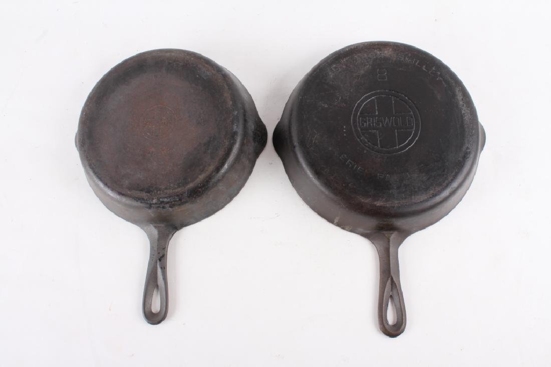 Griswold Cast Iron Skillet Collection c. 1924-1960 - 9
