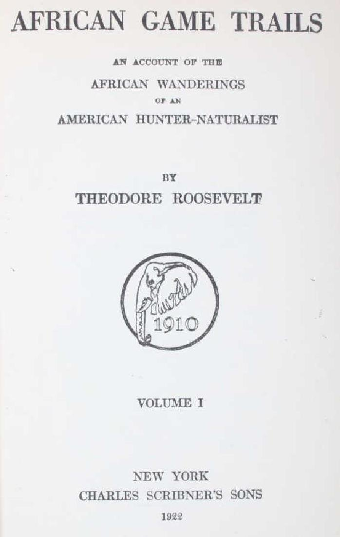 African Game Trails by Theodore Roosevelt - 5